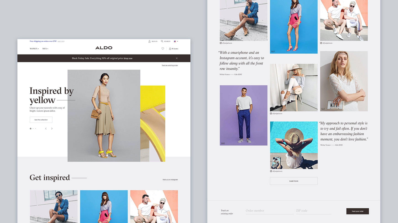 Aldo's New E-Commerce Site