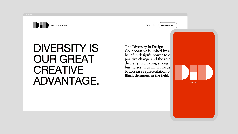 diversity in design website