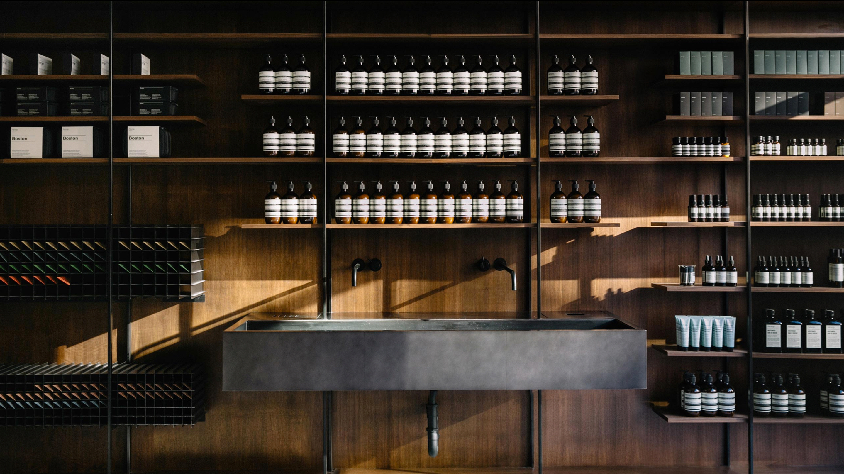 photo of aesop store